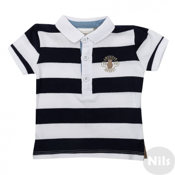 Малыши, Рубашка-поло MINIBANDA (темносиний)611993, фото