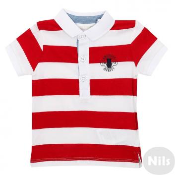 Малыши, Рубашка-поло MINIBANDA (красный)611990, фото