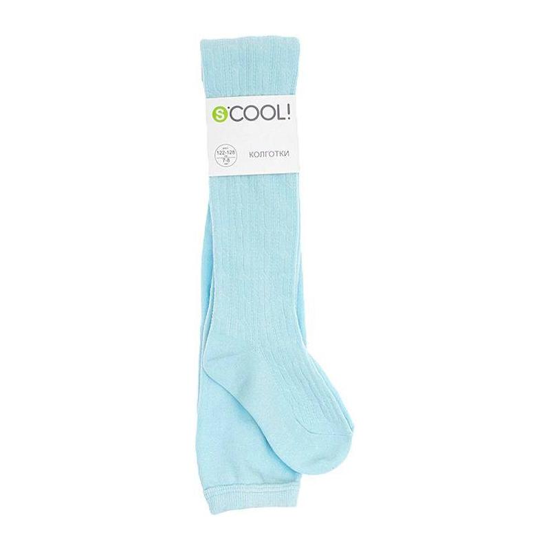 Купить Колготки, S'COOL!, Голубой, Без размера, Для девочки, 444190, Всесезонный, Китай