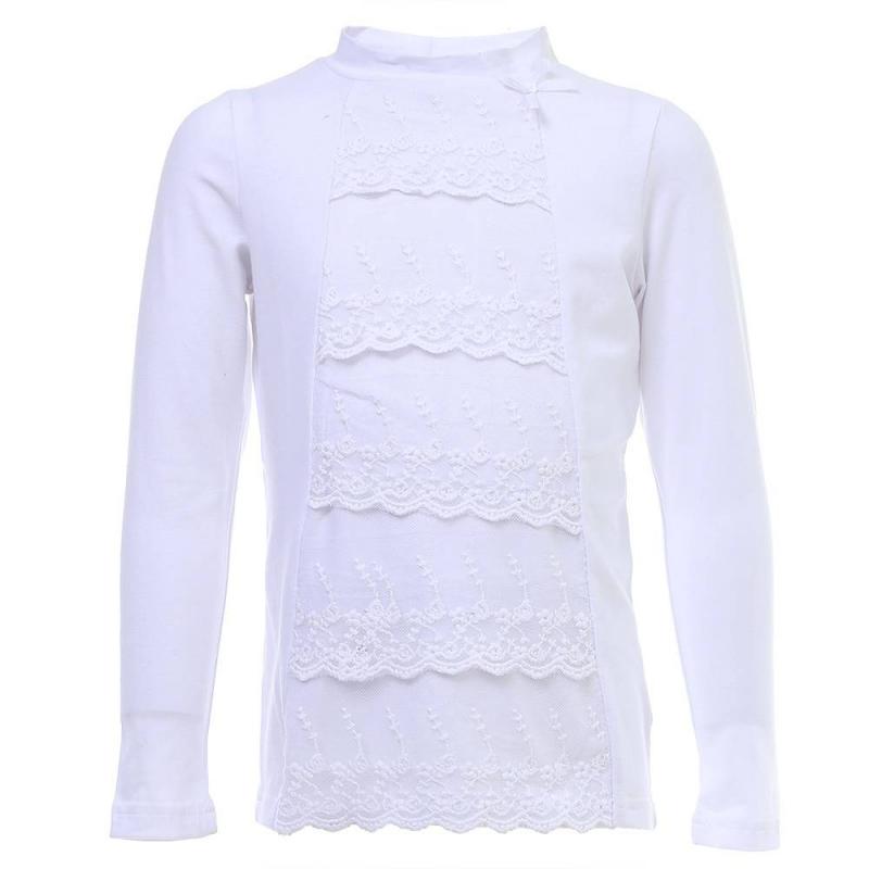 Купить Блузка, S'COOL!, Белый, 11 лет, 146, Для девочки, 444160, Всесезонный, Китай