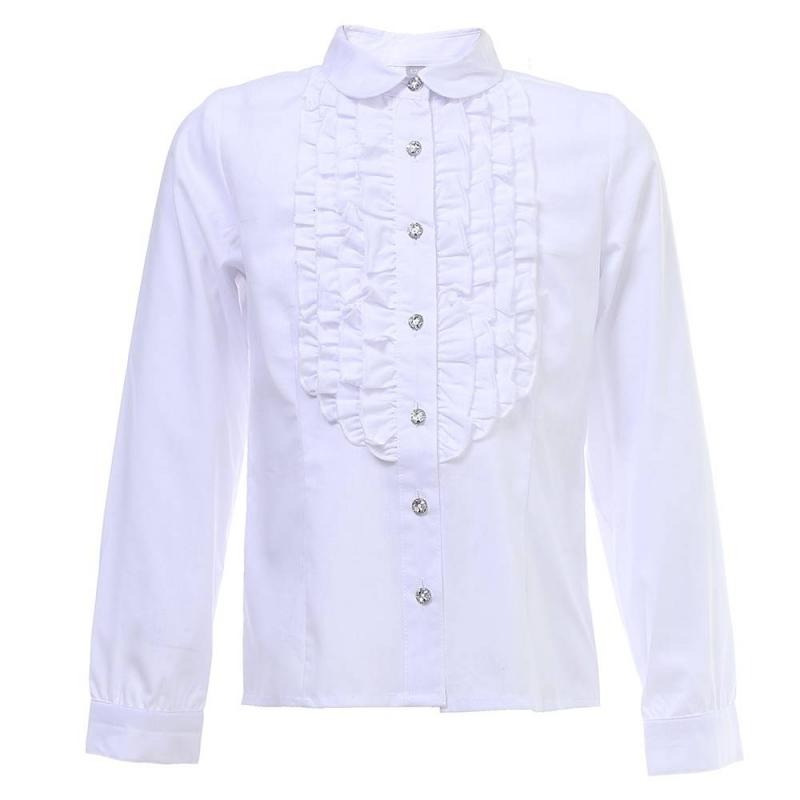 Купить Блузка, S'COOL!, Белый, 10 лет, 140, Для девочки, 444511, Всесезонный, Китай