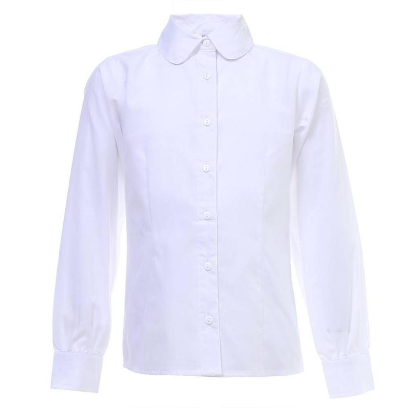 Купить Блузка, S'COOL!, Белый, 9 лет, 134, Для девочки, 444062, Всесезонный, Китай