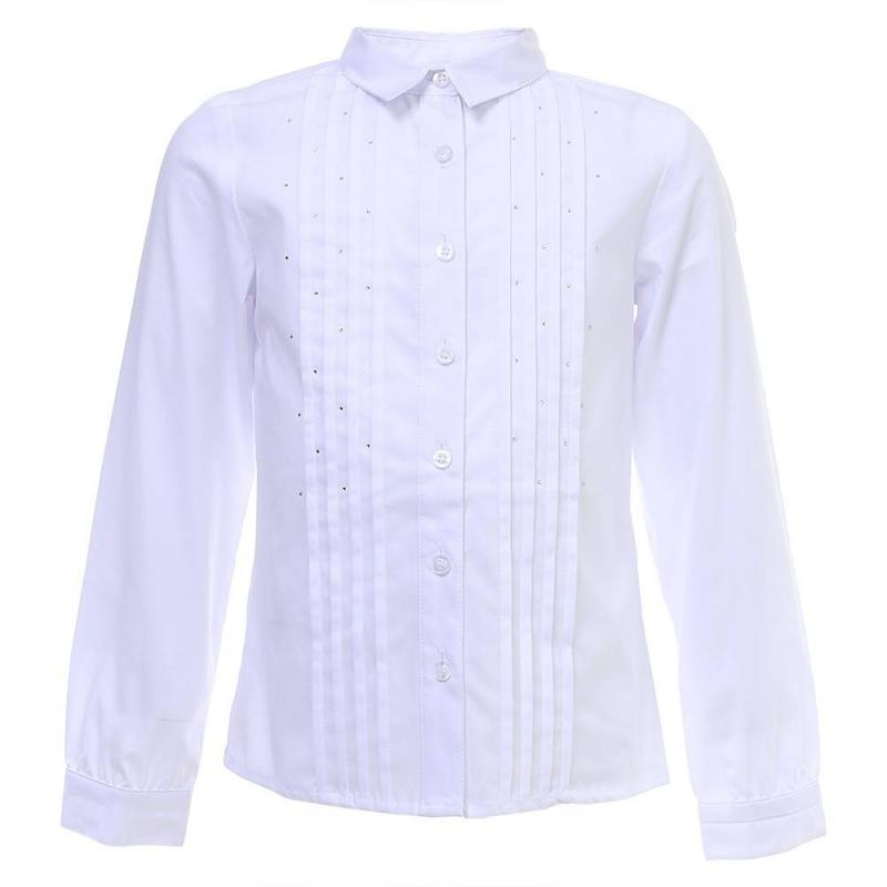 Купить Блузка, S'COOL!, Белый, 9 лет, 134, Для девочки, 444524, Всесезонный, Китай