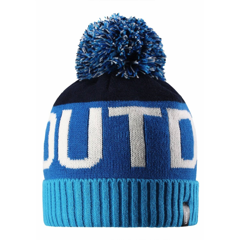 LASSIE by REIMA Шапка шапка вязаная на подкладке button blue шапка вязаная на подкладке