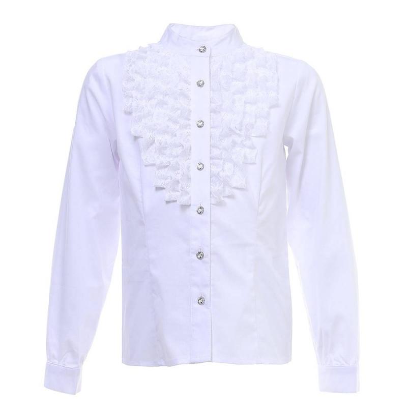 Купить Блузка, S'COOL!, Белый, 10 лет, 140, Для девочки, 444517, Всесезонный, Китай