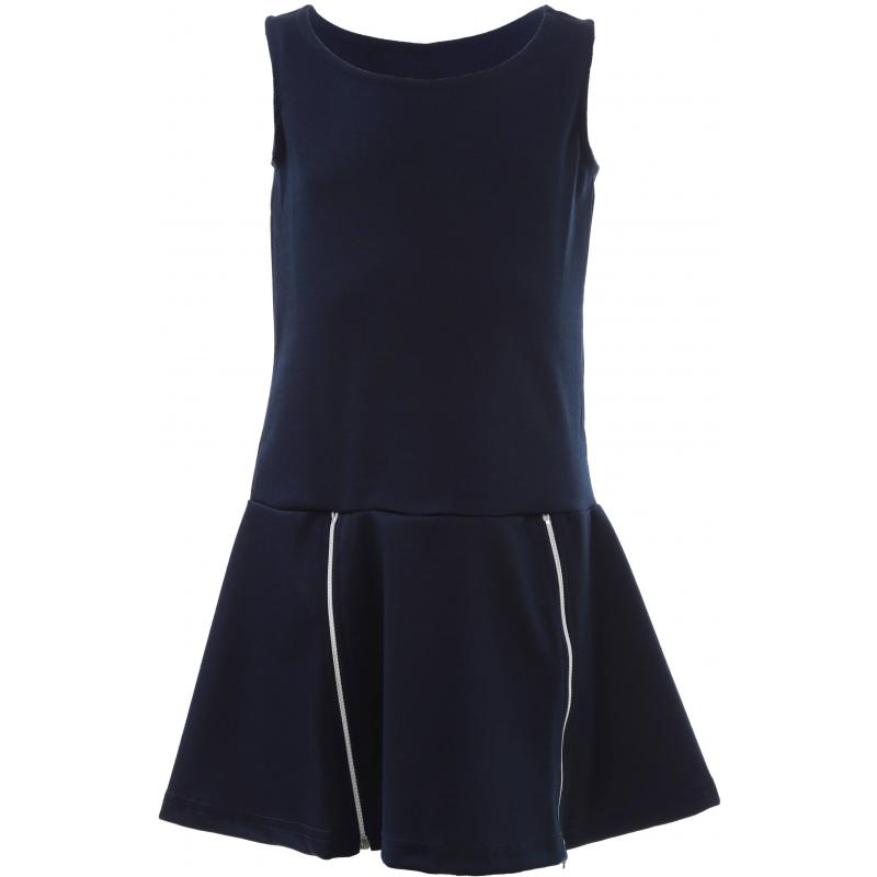 Платье, S'COOL!, Темносиний, 10 лет, 140, Для девочки, 444559, Всесезонный, Китай - купить со скидкой