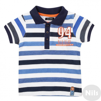 Мальчики, Рубашка-поло BLUE SEVEN (синий)612477, фото