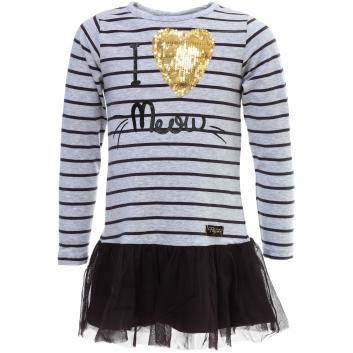 Девочки, Платье PlayToday (серый)446808, фото