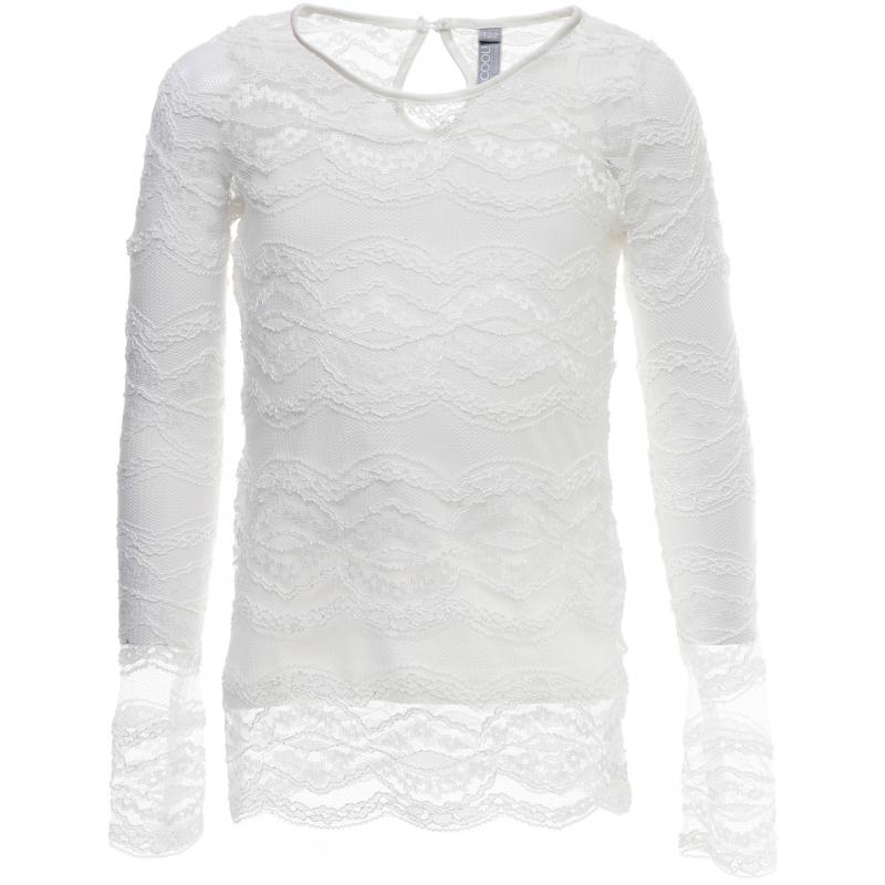 Купить Блузка, S'COOL!, Белый, 9 лет, 134, Для девочки, 444149, Всесезонный, Китай