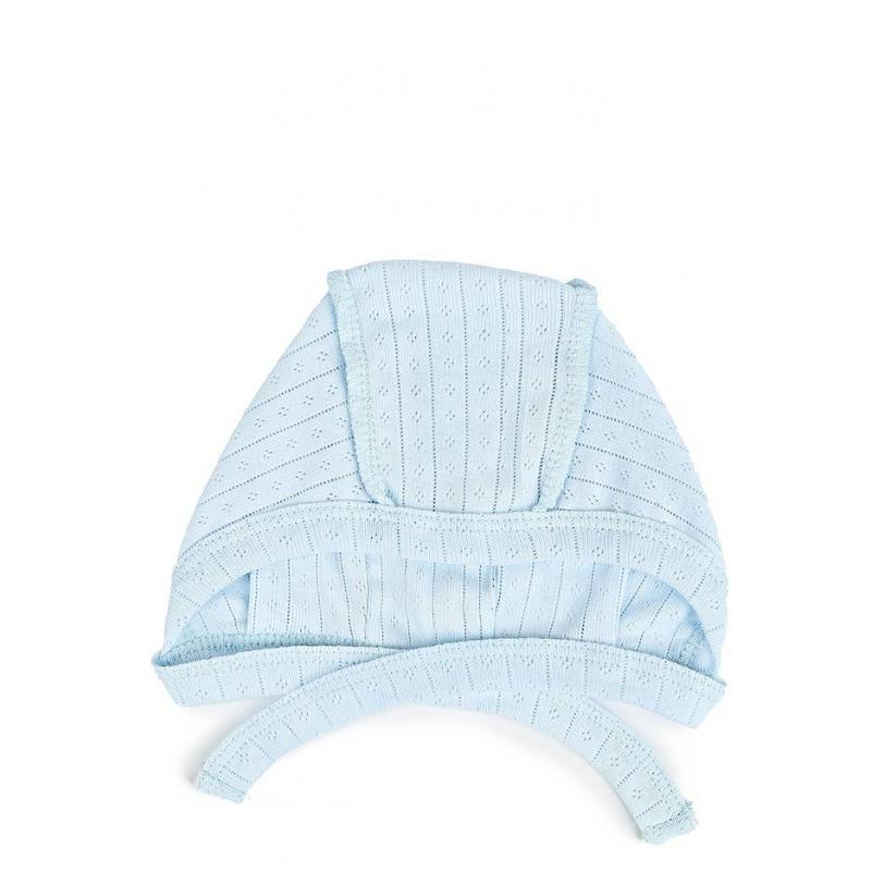 ЧепчикЧепчик голубого цветамаркиSoniKids для мальчиков.<br>Мягкий чепчиквыполнен в нежном цветеиз гипоаллергенной ткани рибана.Модель сшита швами наружу, чтобы не натирать нежную кожу ребенка.<br><br>Размер: 2 месяца<br>Цвет: Голубой<br>Рост: 56<br>Пол: Для мальчика<br>Артикул: 000579<br>Страна производитель: Россия<br>Сезон: Всесезонный<br>Ткань: Рибана<br>Состав: 100% Хлопок<br>ГОСТ: Р53146-2008