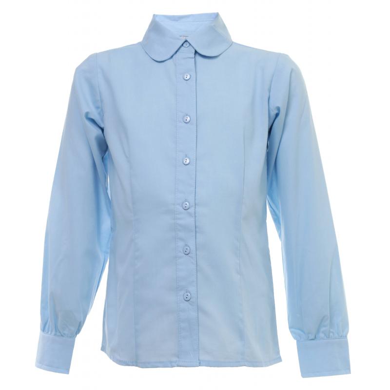 Купить Блузка, S'COOL!, Голубой, 9 лет, 134, Для девочки, 444103, Всесезонный, Китай