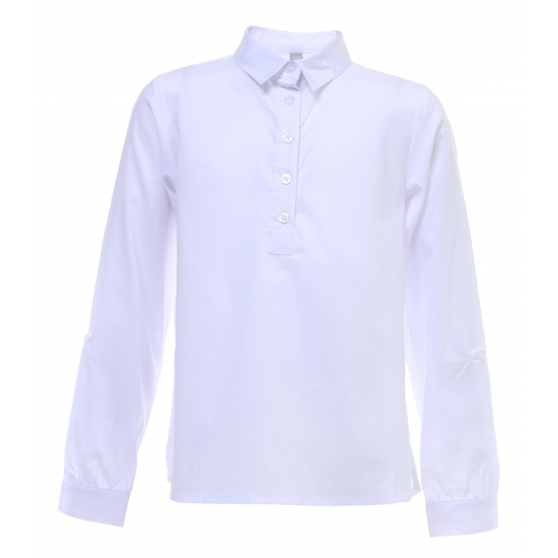 Купить Блузка, S'COOL!, Белый, 9 лет, 134, Для девочки, 444532, Всесезонный, Китай