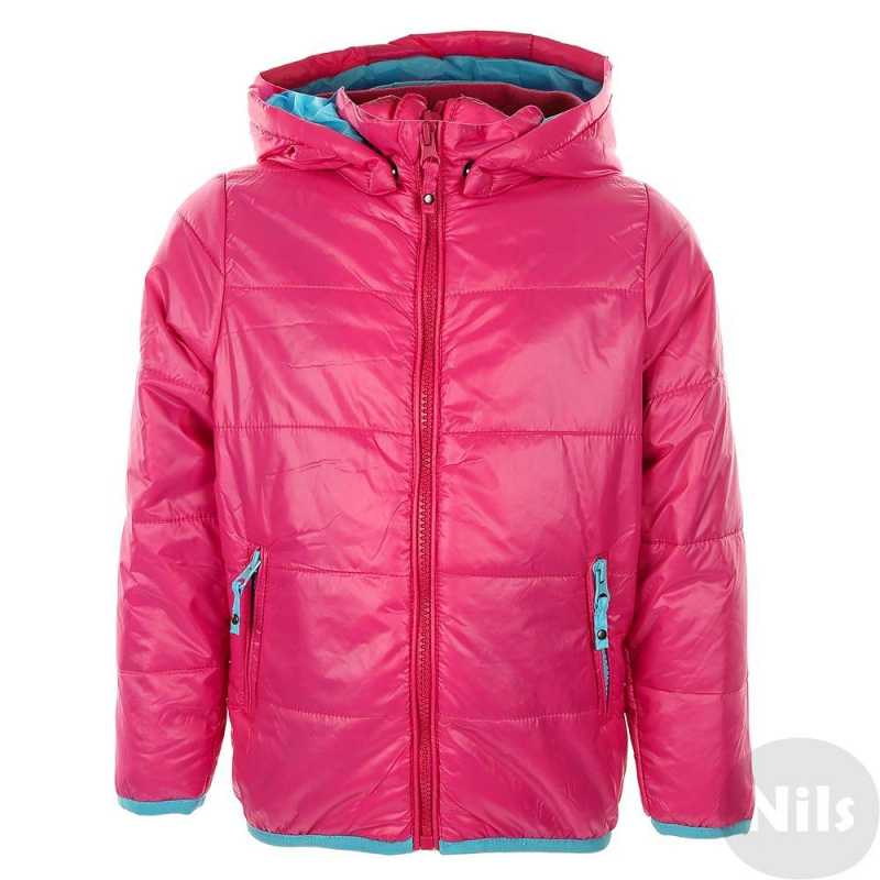 КурткаМалиноваялегкая куртка марки Blue Seven для девочек. Демисезонная куртка с тонким слоем утеплителя имеет съемный капюшон и два кармана на молнии. Низ и манжеты отделаны эластичной тесьмой. Сзади светоотражающий элемент в виде цветочка.<br><br>Размер: 7 лет<br>Цвет: Малиновый<br>Рост: 122<br>Пол: Для девочки<br>Артикул: 613075<br>Бренд: Германия<br>Страна производитель: Китай<br>Сезон: Весна/Лето<br>Состав: 100% Полиамид<br>Состав подкладки: 100% Полиамид<br>Наполнитель: 100% Полиэстер