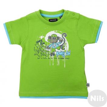 Малыши, Футболка BLUE SEVEN (зеленый)612472, фото