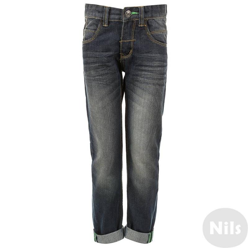 ДжинсыСиние джинсы марки Blue Seven для мальчиков. Джинсы с пятью карманами выполнены из денима с эффектом потертости, застегиваются на молнию и брючную застежку-крючок. Пояс на резинке регулируется специальными пуговицами на внутренней стороне. Карманы украшены декоративной отстрочкой.<br><br>Размер: 7 лет<br>Цвет: Синий<br>Рост: 122<br>Пол: Для мальчика<br>Артикул: 612196<br>Страна производитель: Бангладеш<br>Сезон: Весна/Лето<br>Состав: 70% Хлопок, 30% Полиэстер<br>Бренд: Германия