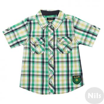 Малыши, Рубашка BLUE SEVEN (зеленый)612591, фото