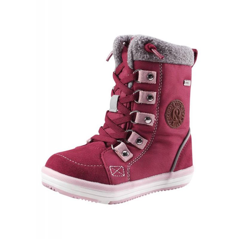 Купить Ботинки Freddo, REIMA, Бордовый, 25, Для девочки, 449461, Осень/Зима, Китай
