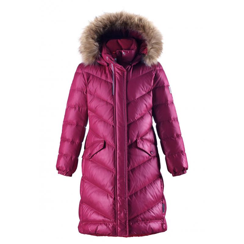 Купить Пальто Satu, REIMA, Малиновый, 6 лет, 116, Для девочки, 450145, Осень/Зима, Китай