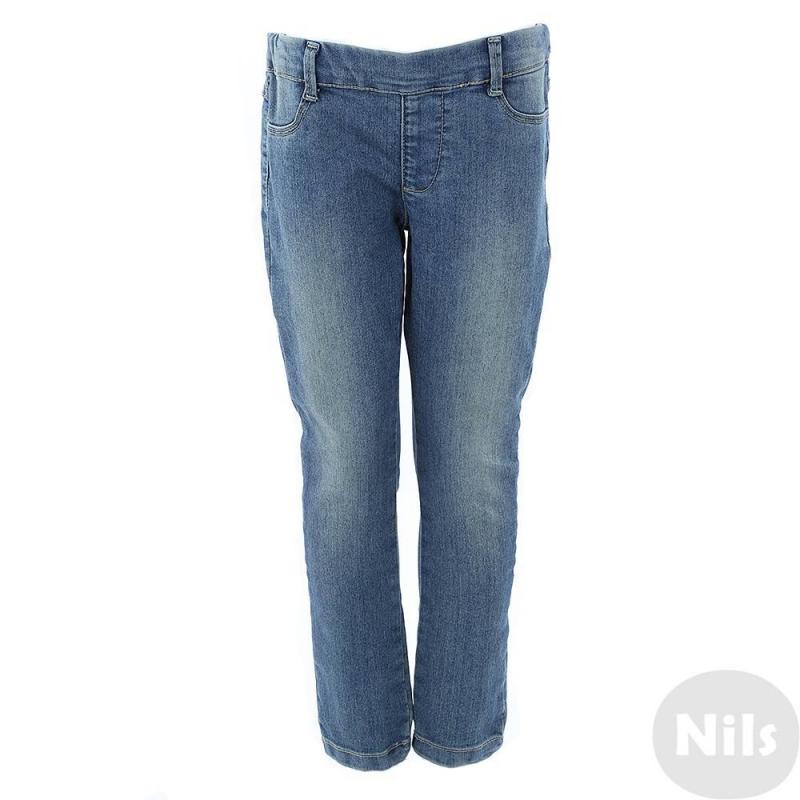 ДжинсыДжинсы синего цветамарки Fracomina mini для девочек.<br>Эластичные джинсы выполнены из денима-стрейч с эффектом потертости, спереди имитация карманов, сзади - два функциональных кармана. Пояс на широкой резинке.<br><br>Размер: 6 лет<br>Цвет: Синий<br>Рост: 116<br>Пол: Для девочки<br>Артикул: 613260<br>Бренд: Италия<br>Страна производитель: Пакистан<br>Сезон: Весна/Лето<br>Состав: 74% Хлопок, 24% Полиэстер, 2% Эластан