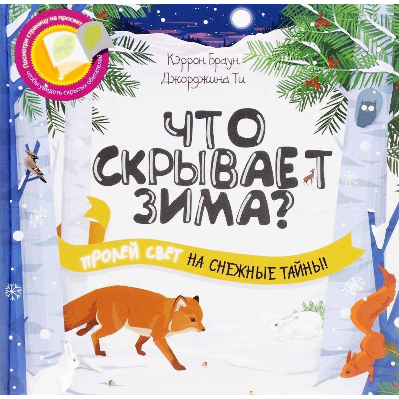 Феникс Развивающая книга Что скрывает зима?