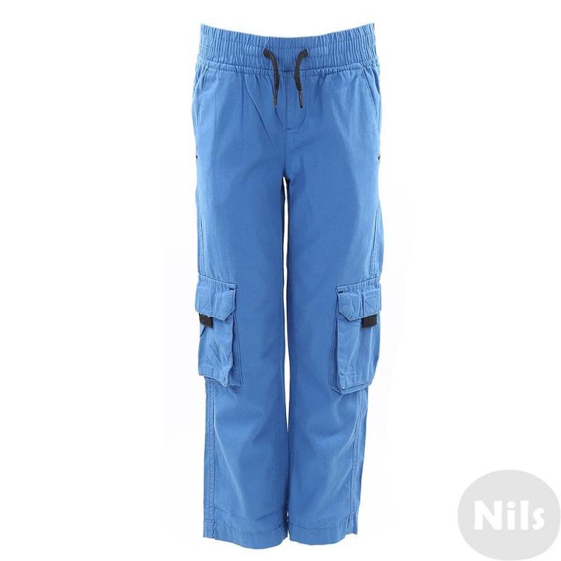 БрюкиСиние брюки марки Blue Seven для мальчиков. Свободные брюки прямого кроя выполнены из чистого хлопка, пояс на широкойрезинке с декоративными завязками. Есть два кармана спереди, два задних кармана и два накладных кармана по бокам на штанинах.<br><br>Размер: 6 лет<br>Цвет: Синий<br>Рост: 116<br>Пол: Для мальчика<br>Артикул: 612241<br>Страна производитель: Бангладеш<br>Сезон: Весна/Лето<br>Состав: 100% Хлопок<br>Бренд: Германия