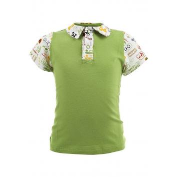 Мальчики, Рубашка-поло Sonia Kids (зеленый)000485, фото
