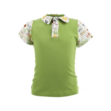 Мальчики, Рубашка-поло Soni Kids (зеленый)000485, фото