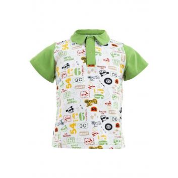 Мальчики, Рубашка-поло Sonia Kids (белый)000491, фото