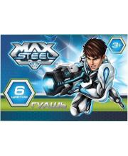 Гуашь 6 цветная Max Steel