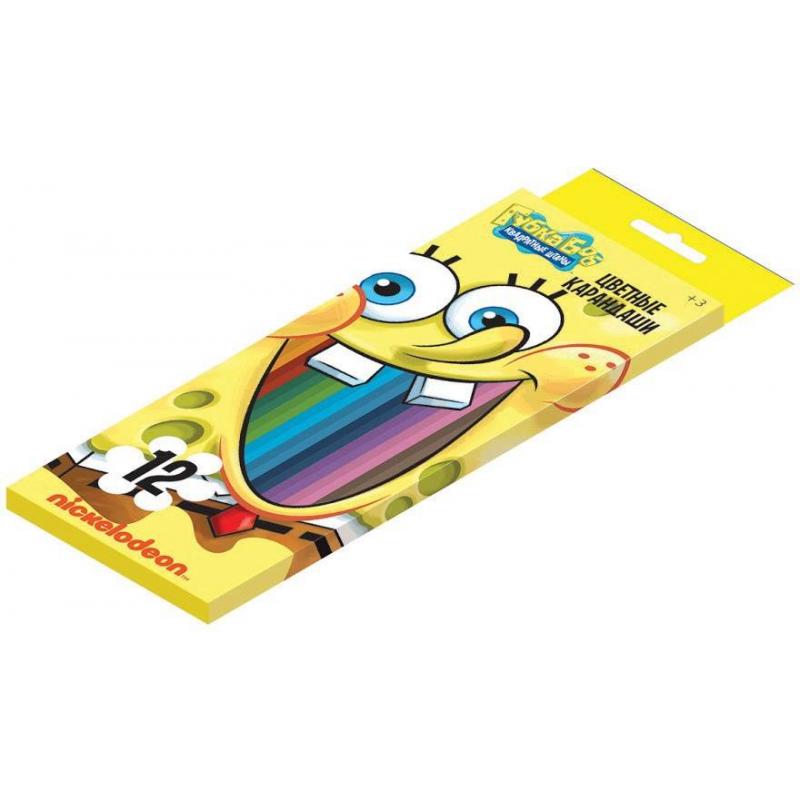 Карандаши цветные Губка Боб от Nils