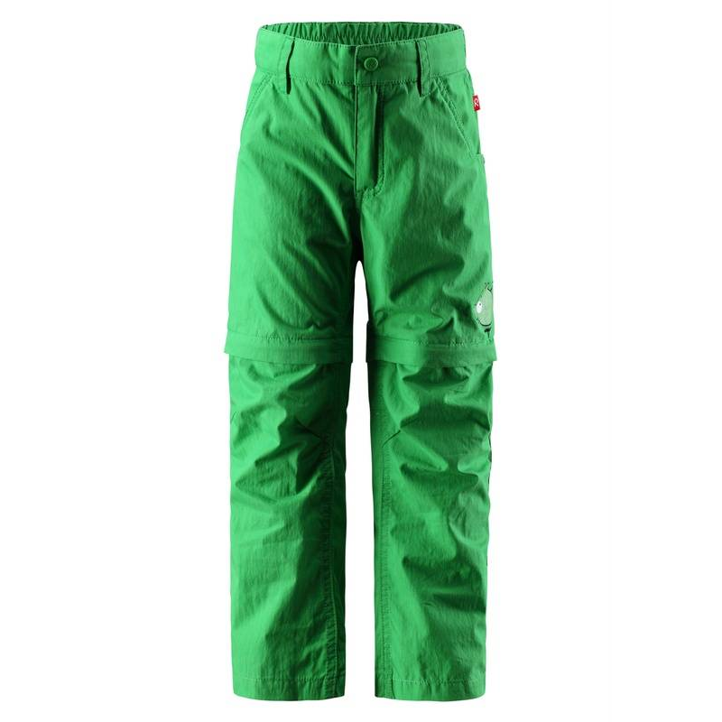 БрюкиБрюки для мальчика от известного финского бренда REIMA. Удобные брюки зеленогоцвета выполнены из дышащего и ветронепроницаемого материала. Брюки на молнии и легко трансформируются в практичные шорты.Эластичная талия с возможностью регулировки полноты не сковывает движения, а модники могут завершить образ ремнем для которого предусмотрены петли.<br><br>Размер: 9 лет<br>Цвет: Зеленый<br>Рост: 134<br>Пол: Для мальчика<br>Артикул: 613544<br>Страна производитель: Китай<br>Сезон: Весна/Лето<br>Состав: 70% Хлопок, 30% Полиамид<br>Состав подкладки: 100% Полиэстер<br>Бренд: Финляндия