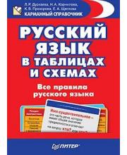 Русский язык в таблицах и схемах. Все правила русского языка ИД Питер