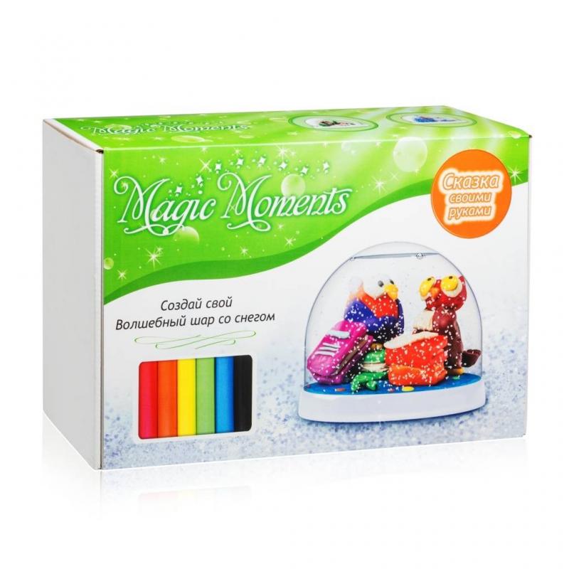 Magic Moments Набор для творчества Волшебный шар Совы набор bumbaram волшебный шар рыбки mm 4