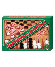 Настольная игра Шашки/Нарды Десятое королевство
