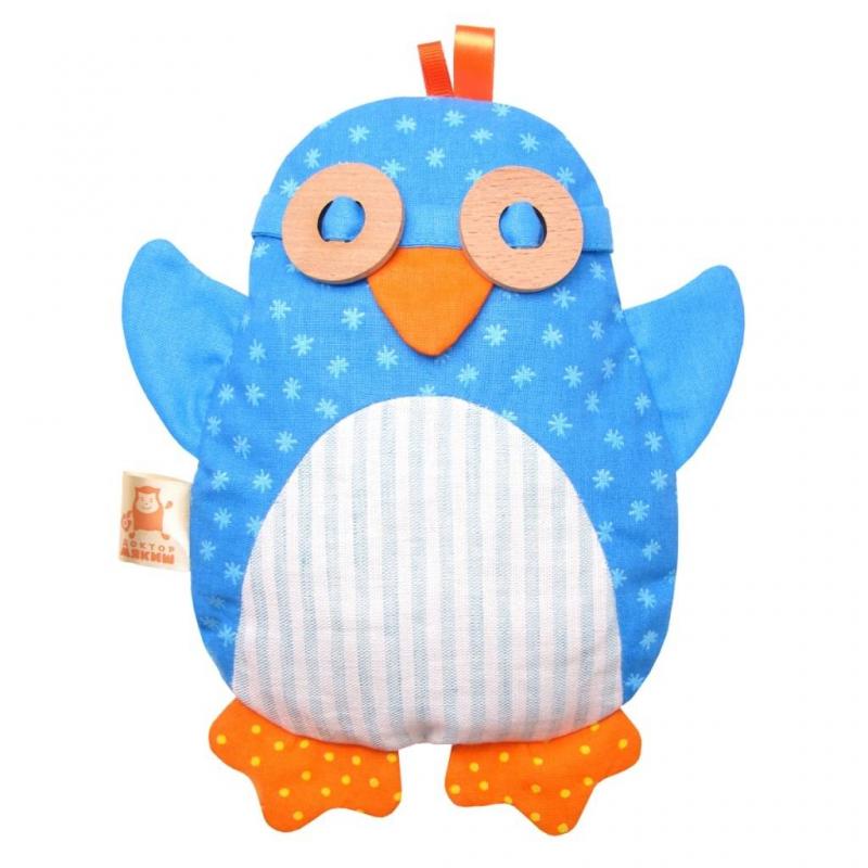 Мякиши Игрушка-грелка Доктор Мякиш-Пингвин мякиши игрушка грелка доктор мякиш сова