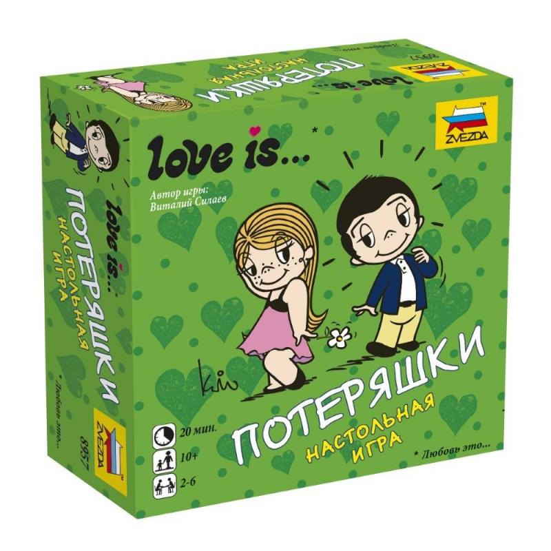 ZVEZDA Настольная игра Love is...Потеряшки zvezda настольная игра love is потеряшки