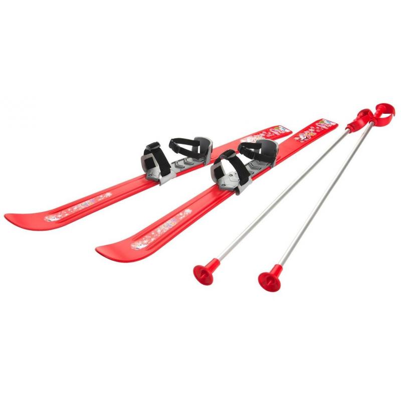 Лыжи с палками и креплениями Baby Ski