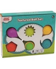Набор развивающих рельефных мячиков 6 шт Little Hero
