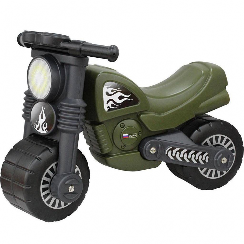 Мотоцикл-каталка Моторбайк военный