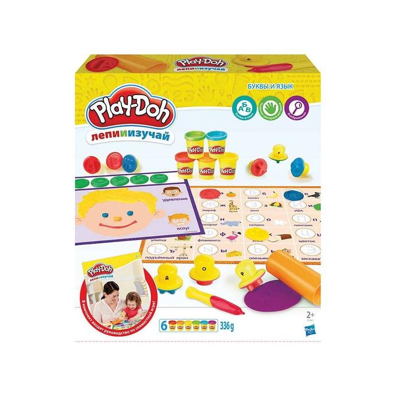 Play-Doh Игровой набор Буквы и языки play doh игровой набор праздничный торт