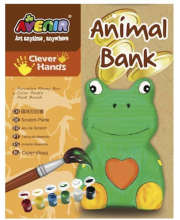 Набор для росписи копилки Лягушка