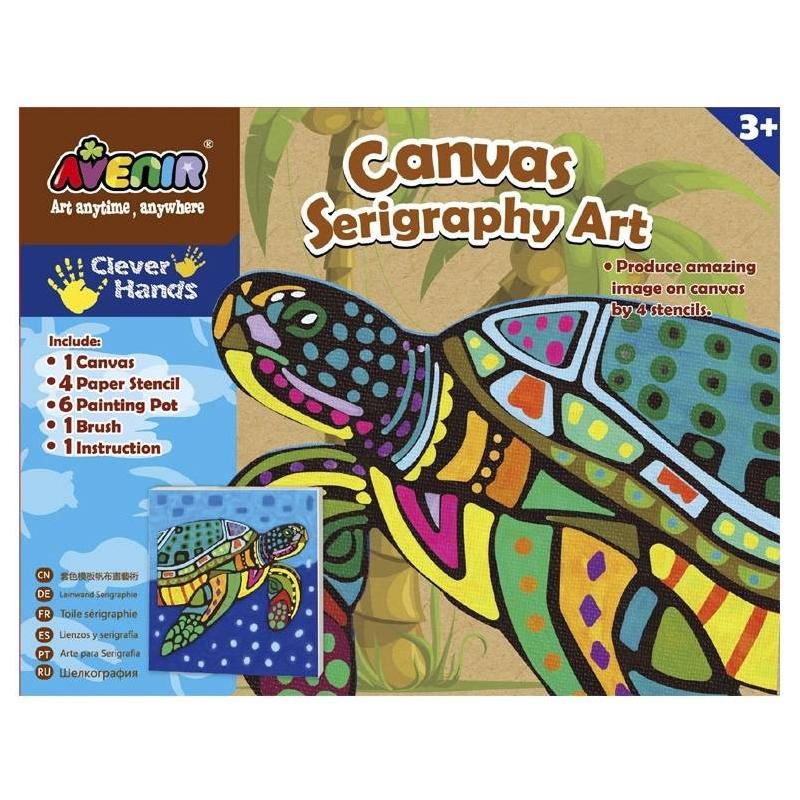 Avenir Большой набор для шелкографии Черепаха наборы для рисования avenir набор для рисования