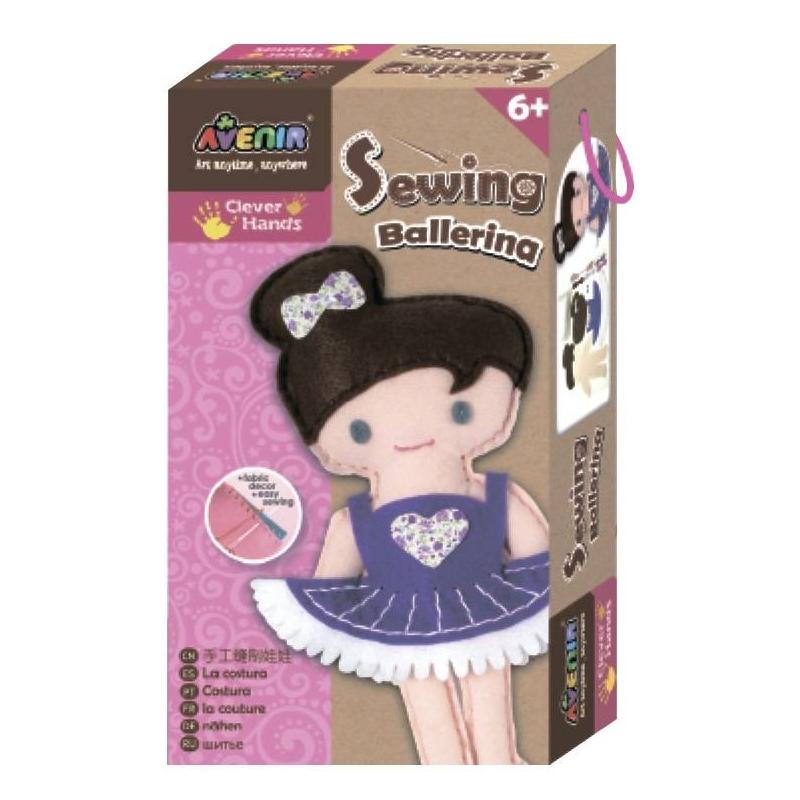 Avenir Набор для шитья Балерина наборы для шитья avenir набор для шитья зайчик