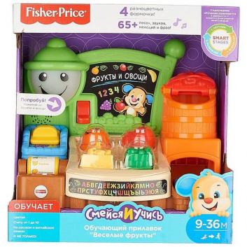 Игрушки, Игрушка Прилавок с фруктами и овощами Fisher Price 471250, фото