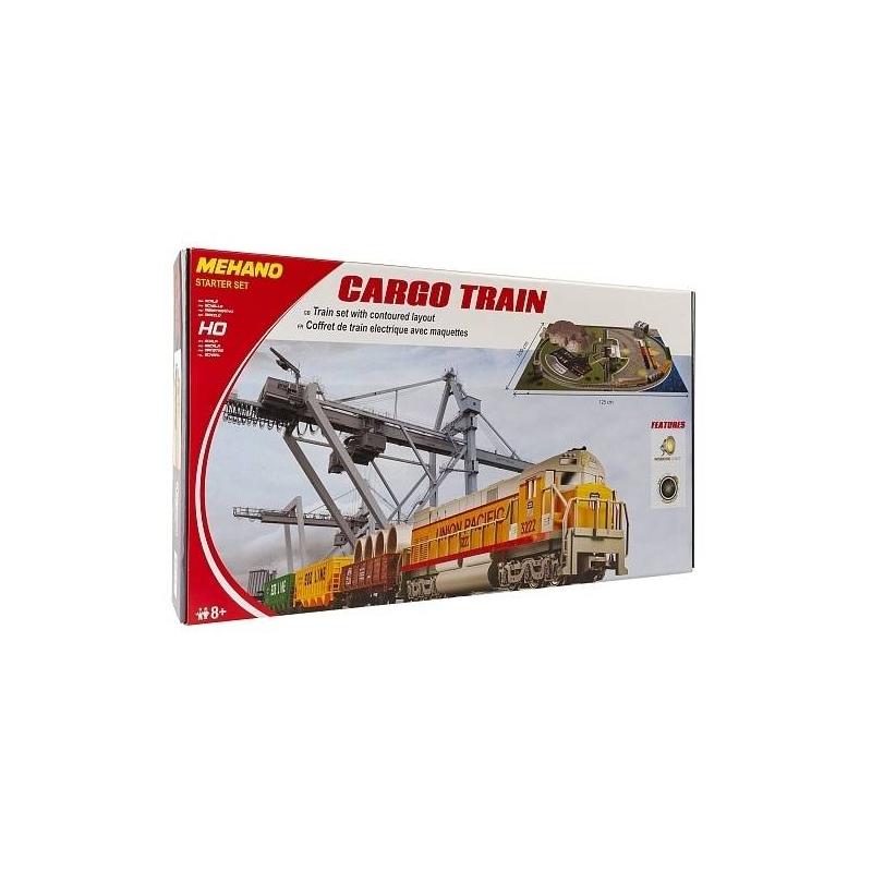 Железная дорога Cargo Train с ландшафтом