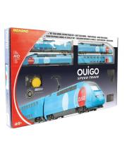 Железная дорога Двухэтажный TGV Ouigo Mehano