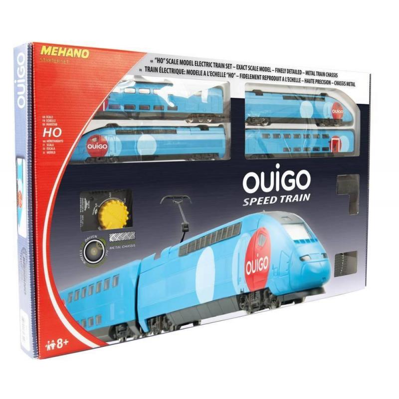 Mehano Железная дорога Двухэтажный TGV OUIGO mehano набор рельс 1
