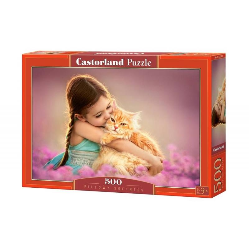 Castorland Пазл Рыжий котенок 500 деталей белый медвежонок и котенок пазл 150 элементов