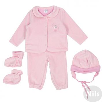 Малыши, Комплект 4 пр. CROCKID (розовый)614247, фото