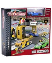 Игровой набор Парковка Lamborghini Majorette